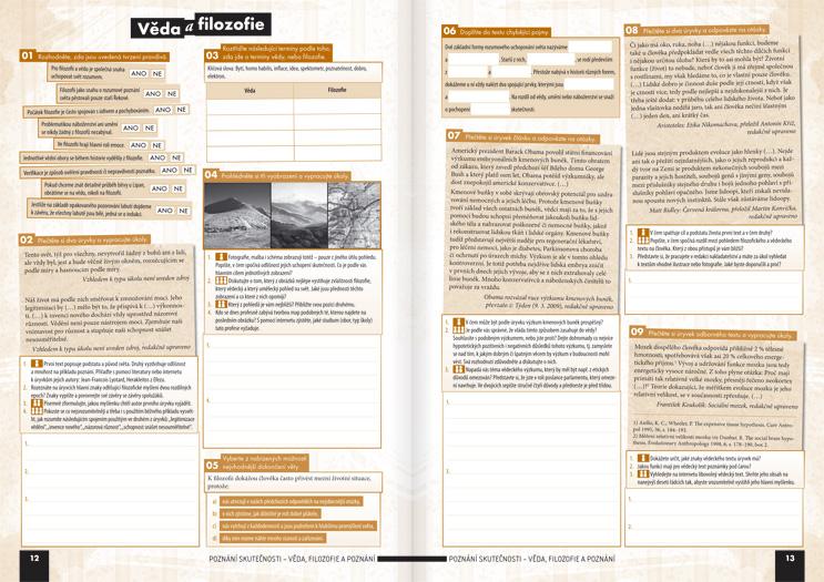 Společenské vědy pro střední školy, 1. díl (pracovní sešit) - Náhled učebnice