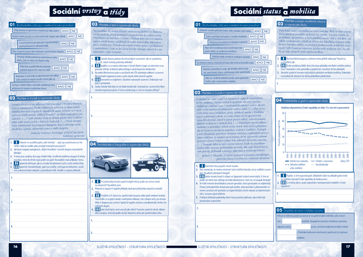 Společenské vědy pro střední školy, 2. díl (pracovní sešit) - Náhled učebnice