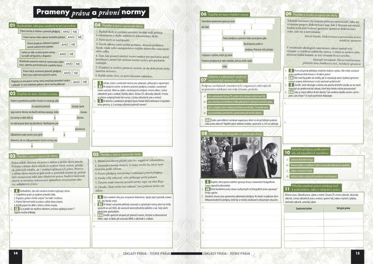 Společenské vědy pro střední školy, 3. díl (pracovní sešit) - Náhled učebnice