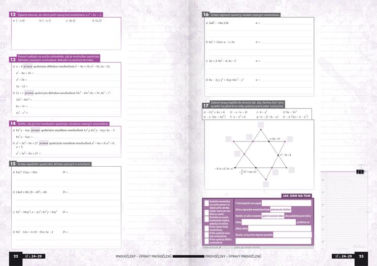 Matematika pro střední školy, 2. díl: Výrazy, rovnice a nerovnice (pracovní sešit) - Náhled učebnice