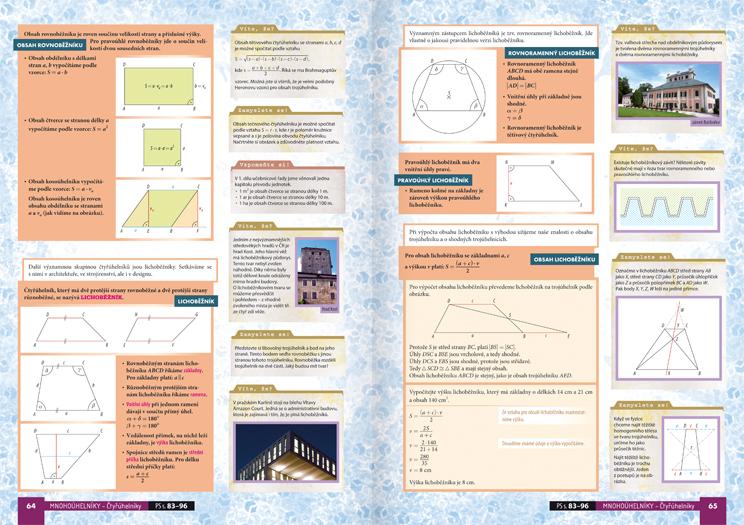 Matematika pro střední školy 3. díl: Planimetrie (učebnice) - Náhled učebnice