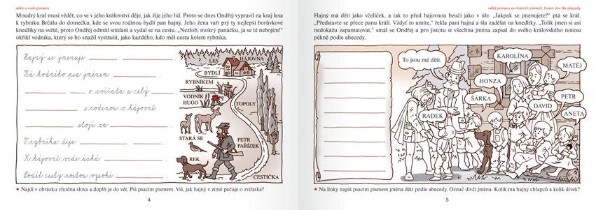 Český jazyk (2. roč. ZŠ) - zábavné procvičování doma i ve škole
