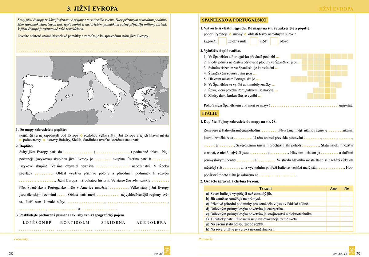 Zemepis 8 1 Dil Evropa Pracovni Sesit 8 77 Nova Skola
