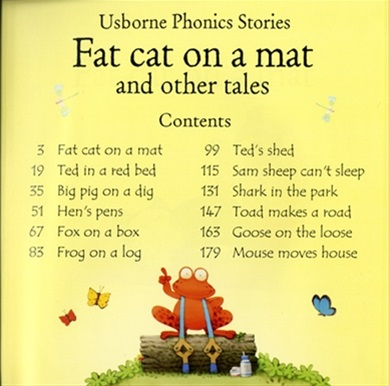 Fat Cat On A Mat And Other Tales With Cd Usborne