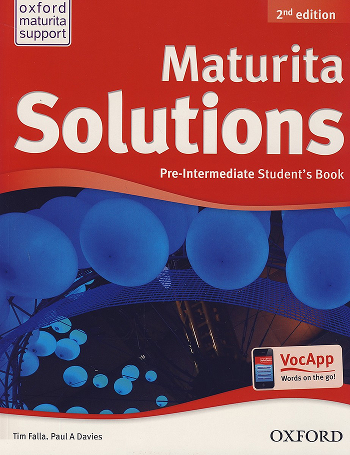Maturita Solutions: Pre-Intermediate Student's Book (2nd edition) - Náhled učebnice