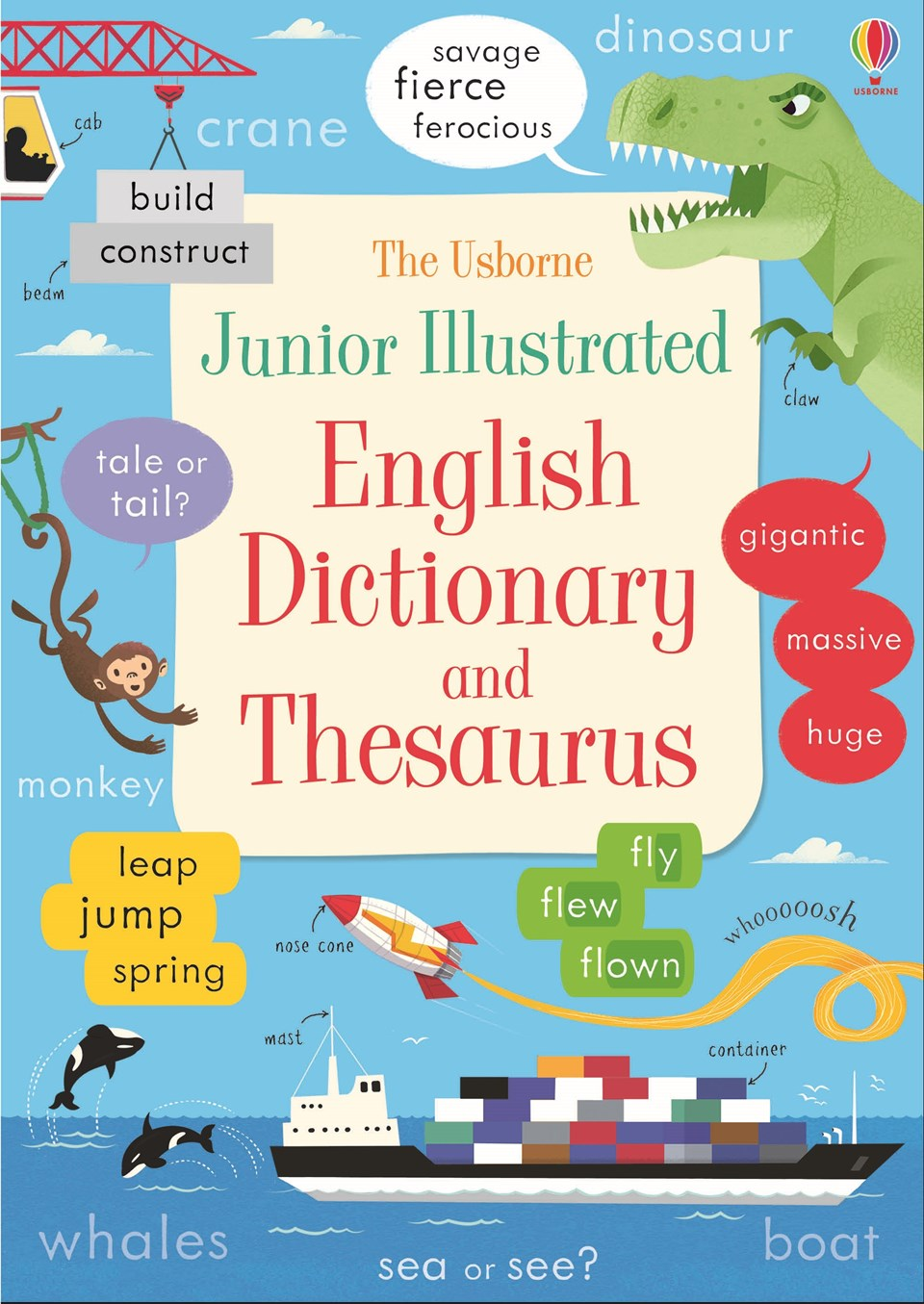Junior Illustrated English Dictionary and Thesaurus