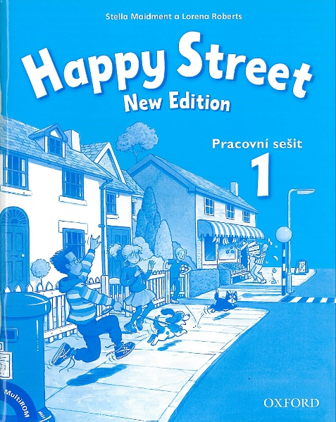 Happy Street 1 (New Edition) Pracovní sešit + MultiROM