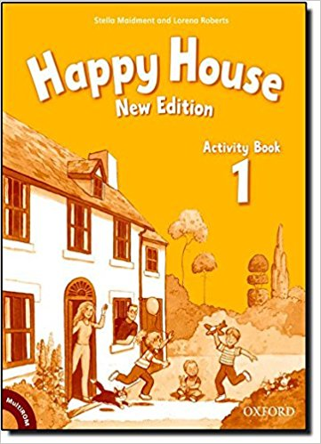 Happy House 1 (New Edition) Activity Book with MultiRom ( International English Edition)
