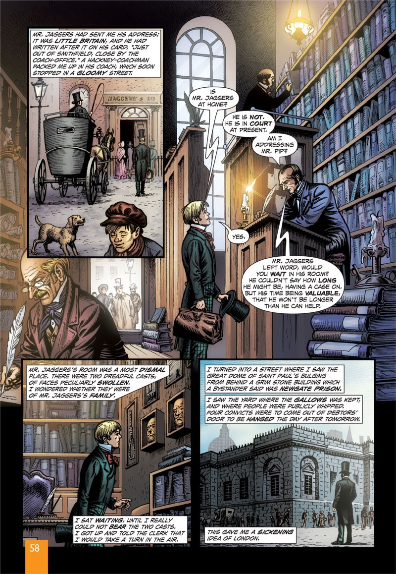 an analysis of the novel the great expectations by charles dickens Need help on themes in charles dickens's great expectations check out our thorough thematic analysis from the creators of sparknotes.