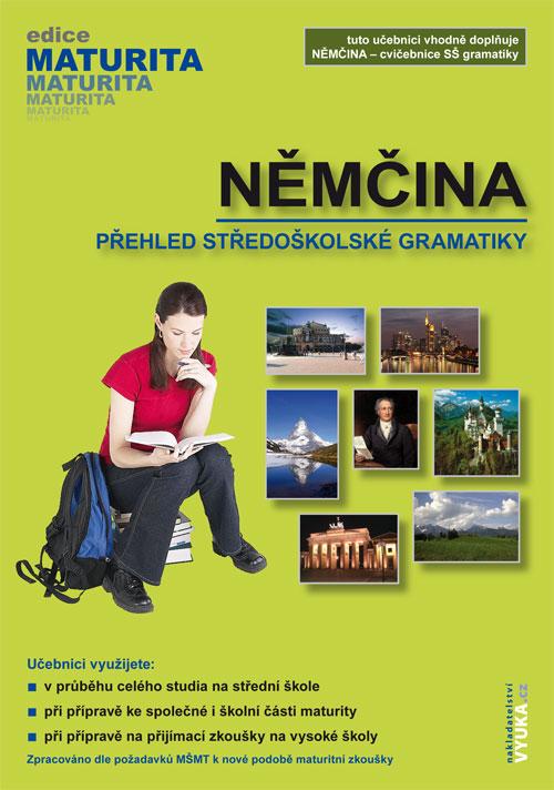 Němčina, přehled středoškolské gramatiky - Náhled učebnice