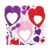 Dekorace srdce – šitíèko nové (3ks)