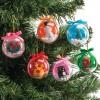 Transparentní vánoèní koule k zavìšení (12 ks) EX2323