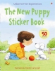 Usborne First experiences The new puppy sticker book