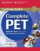 Complete PET Student´s Book  with answers + CD-ROM + Testbank