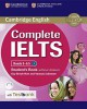 Complete IELTS Bands 5-6,5 B2 Student´s Book without answers + CD-ROM + Testbank