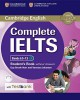 Complete IELTS Bands 6.5–7.5 C1 Student´s Book without answers + CD-ROM + Testbank