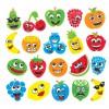 Pìnové samolepky veselé ovoce (120 kusù) - AC816