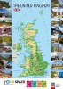 Mapa The United Kingdom