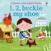 Usborne Little Board Books 1, 2, buckle my shoe