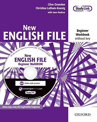 New English File Beginner Workbook with MultiROM