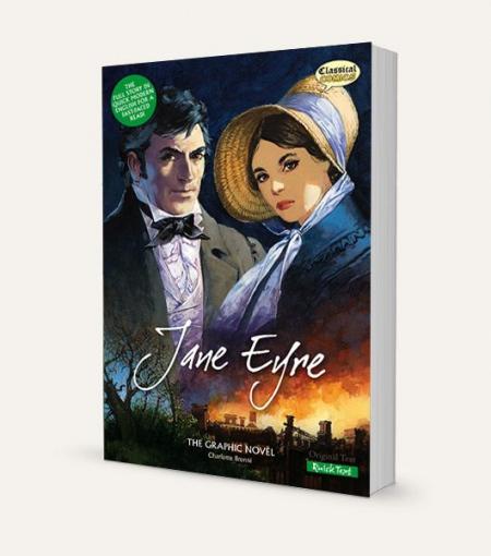 Jane Eyre (Charlotte Brontë): The Graphic Novel Quick Text