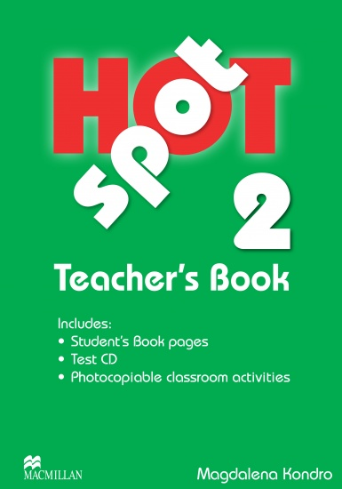 Hot Spot 2 Teacher´s Book + Test CD