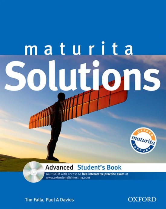 Maturita Solutions Advanced STUDENT´S BOOK + CD-ROM Czech Edition