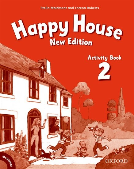 Happy House 2 (New Edition) Activity Book and MultiROM Pack ( International English Edition)