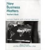 NEW BUSINESS MATTERS 2E - TEACHER´S TEXT