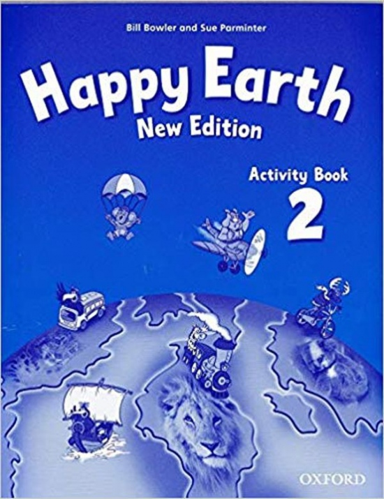 Happy Earth 2 (New Edition) Activity Book with MultiRom