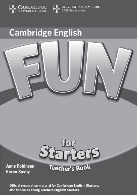 Fun for Starters (2nd Edition) Teacher´s Book