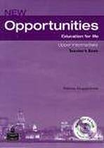 New Opportunities Upper Intermediate Teacher´s Book with Test Master CD-ROM