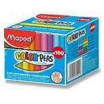 Maped - barevné kulaté křídy - 100 ks