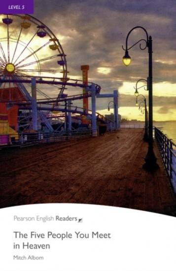 Penguin Readers 5 The Five People You Meet in Heaven Book + MP3 Audio CD