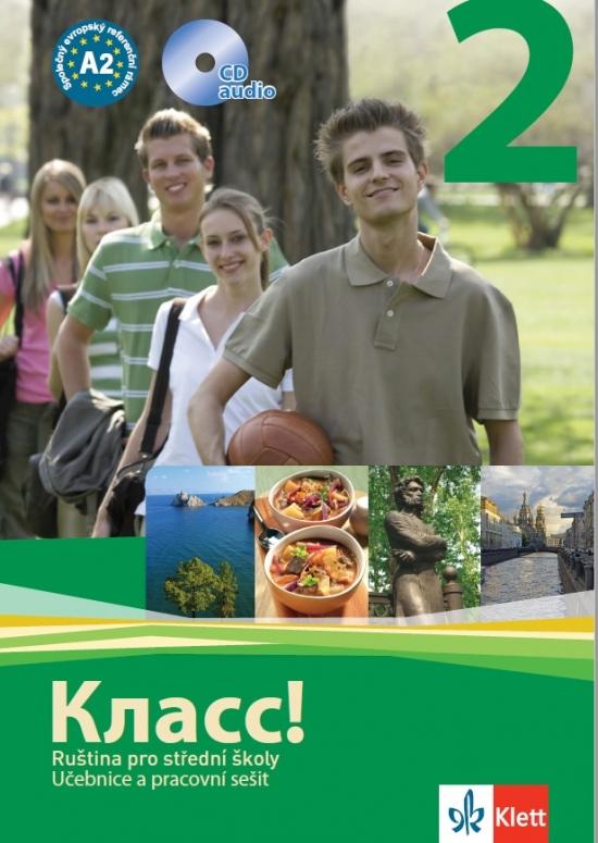 Klass! 2 (A2) – balíček - Náhled učebnice