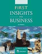 First Insights Into Business Student´s Book