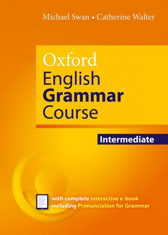 Oxford English Grammar Course Intermediate without Answers with CD-ROM