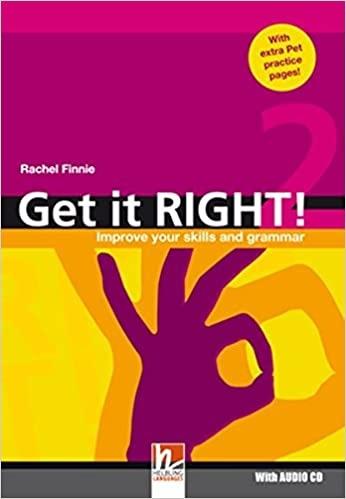 Get it Right! Level 2 + Audio CD