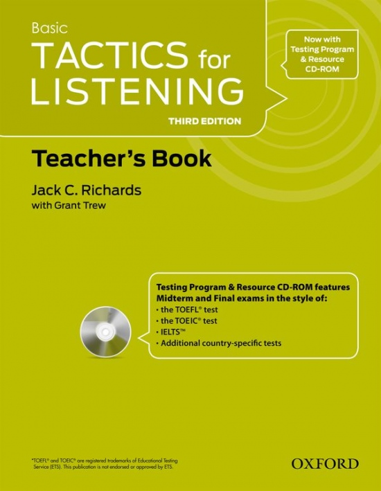 Tactics for Listening, Third Edition 1 Teacher´s Book with Audio CD Pack
