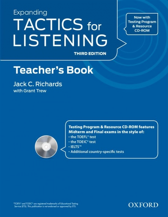 Tactics for Listening, Third Edition 3 Teacher´s Book with Audio CD Pack