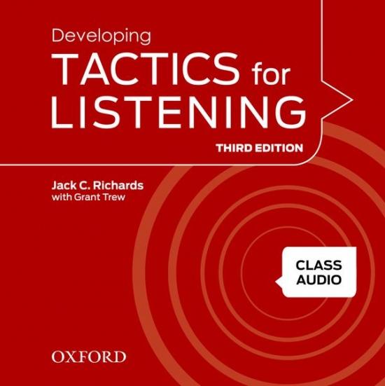 Tactics for Listening, Third Edition 2 Class Audio CDs (4)