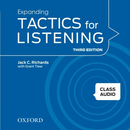 Tactics for Listening, Third Edition 3 Class Audio CDs (4)