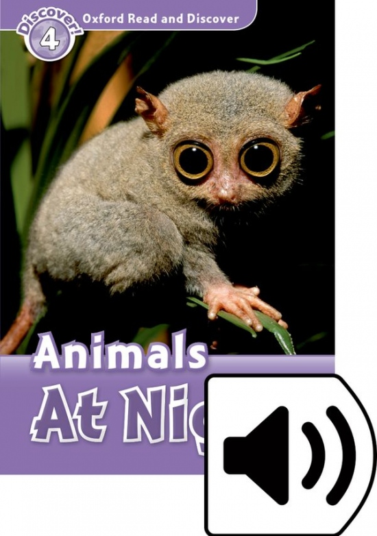 Oxford Read And Discover 4 Animals at Night Audio CD Pack