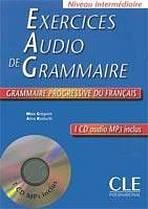 Exercices audio de grammaire– CD audio MP3 - Livre + CD audio
