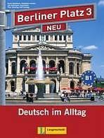 BERLINER PLATZ NEU 3 LEHRBUCH und ARBEITSBUCH mit AUDIO CDS . - Náhled učebnice
