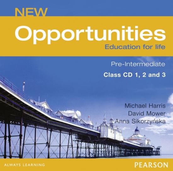 NEW OPPORTUNITIES Pre-Intermediate CLASS CD