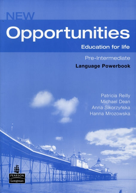 NEW OPPORTUNITIES Pre-Intermediate LANGUAGE POWER BOOK with CD-ROM