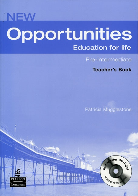NEW OPPORTUNITIES Pre-Intermediate Teacher´s Book with Test Master CD-ROM