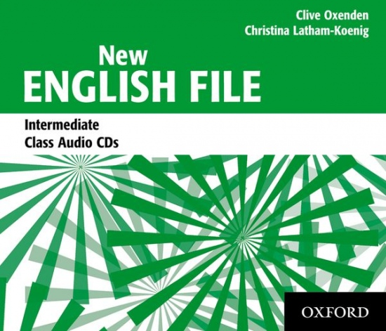 NEW ENGLISH FILE Intermediate CLASS CD