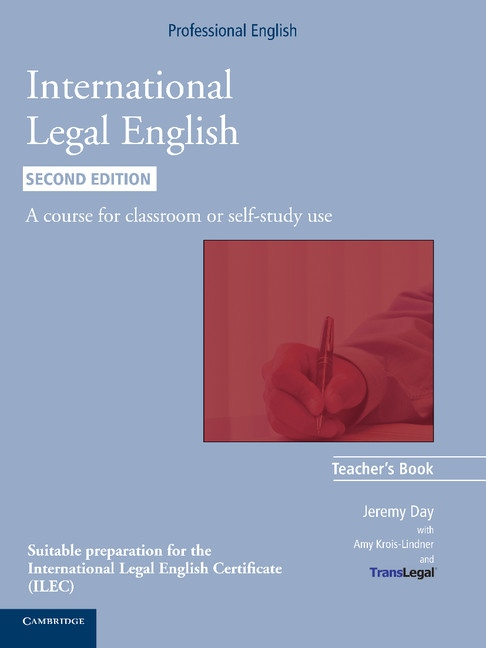 International Legal English (2nd Edition) Teacher´s Book